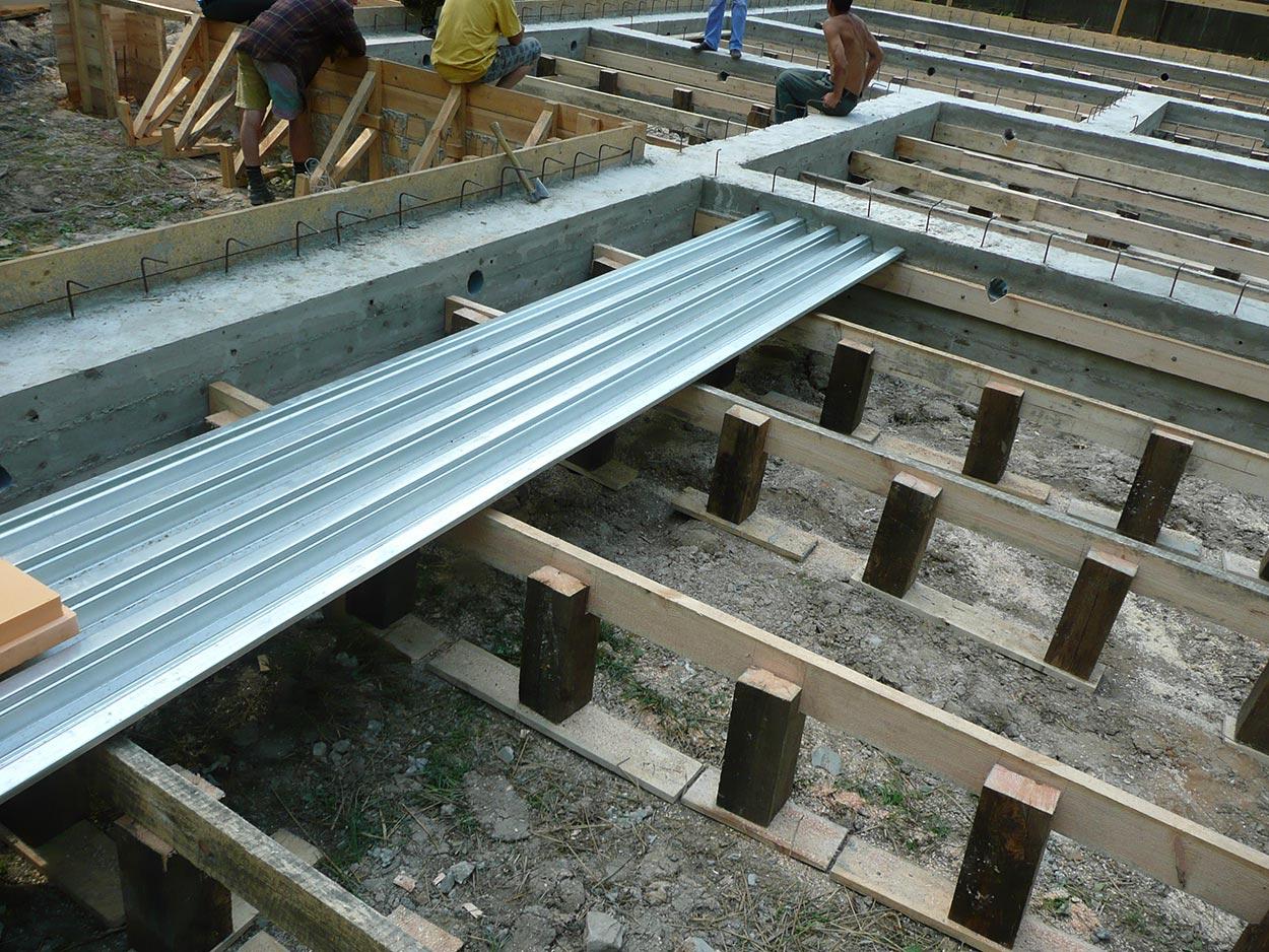 Заливка бетона своими руками в