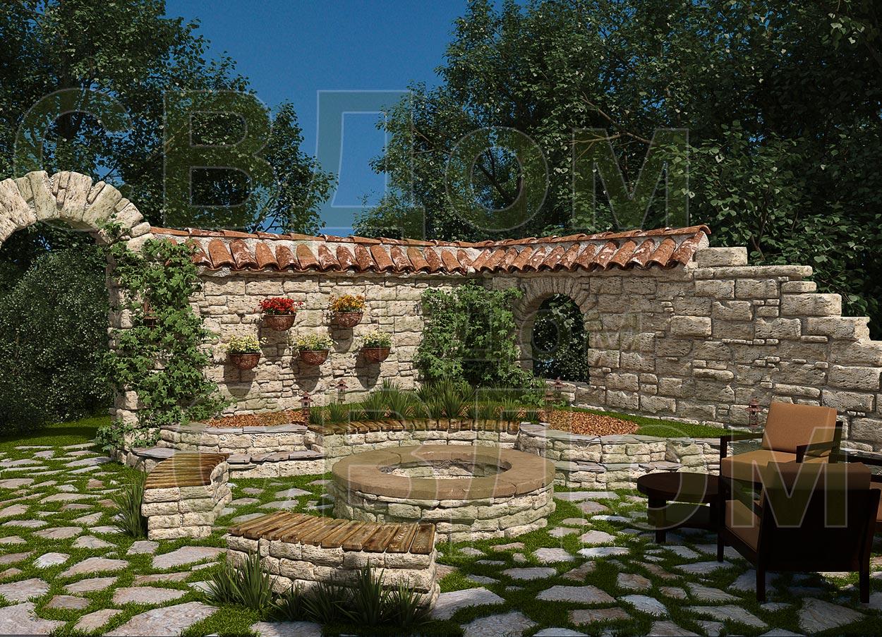 Фотогалерея барбекю в саду мини-барбекю из кирпича