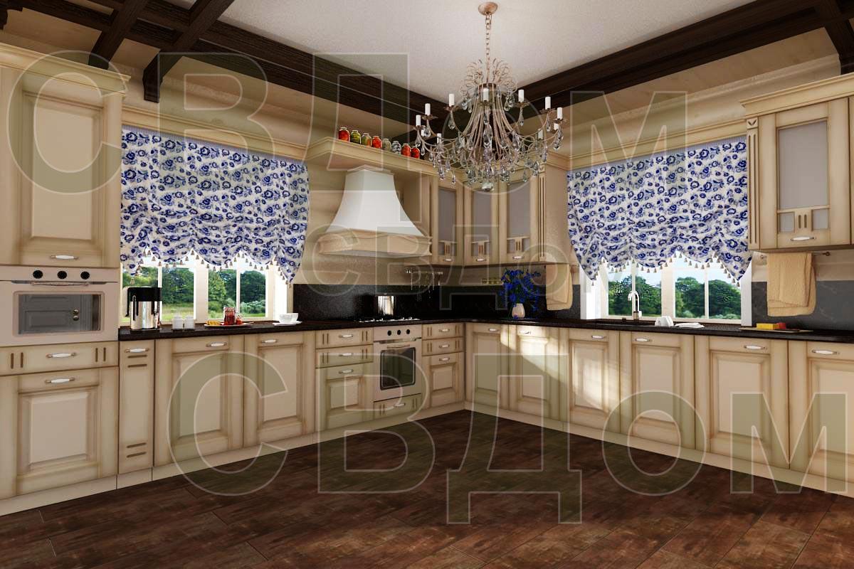 заказать дизайн интерьера деревянного дома из бруса